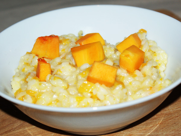Risotto a la courge butternut